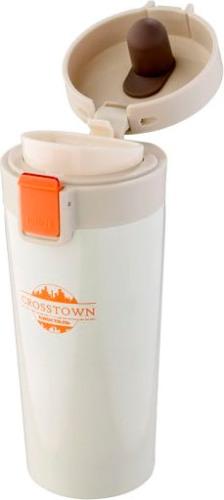 Термостакан Biostal Crosstown 400 мл с поилкой - удобная крышка