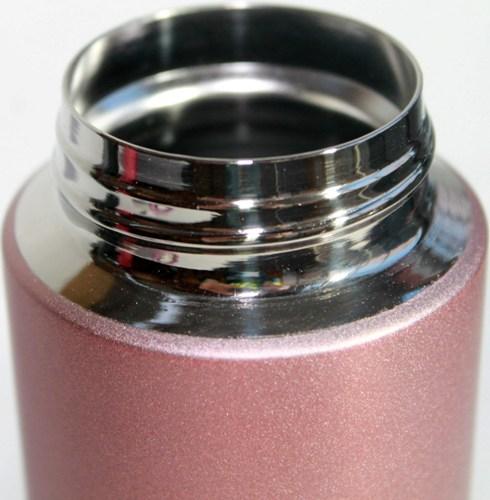 Термостакан Steel с поилкой 500 мл - стальное горло