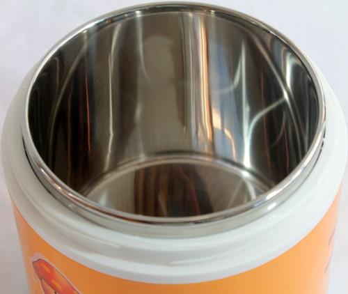 Детский термос YOURtext для еды 1,3 литра - супер широкое горло и металлическая колба