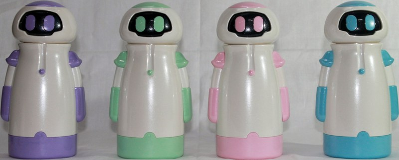 Детский термос Робот Eva 220 мл - варианты цвета
