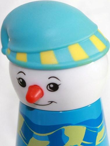 Детский термос Снеговик 320 мл - крышка-пробка
