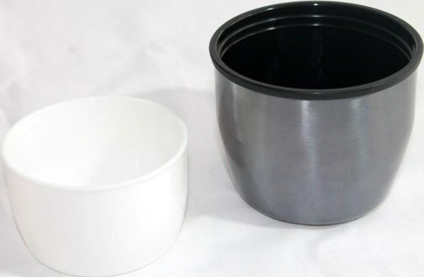 Термос для напитков Metal 1 литр - крышка и чашка