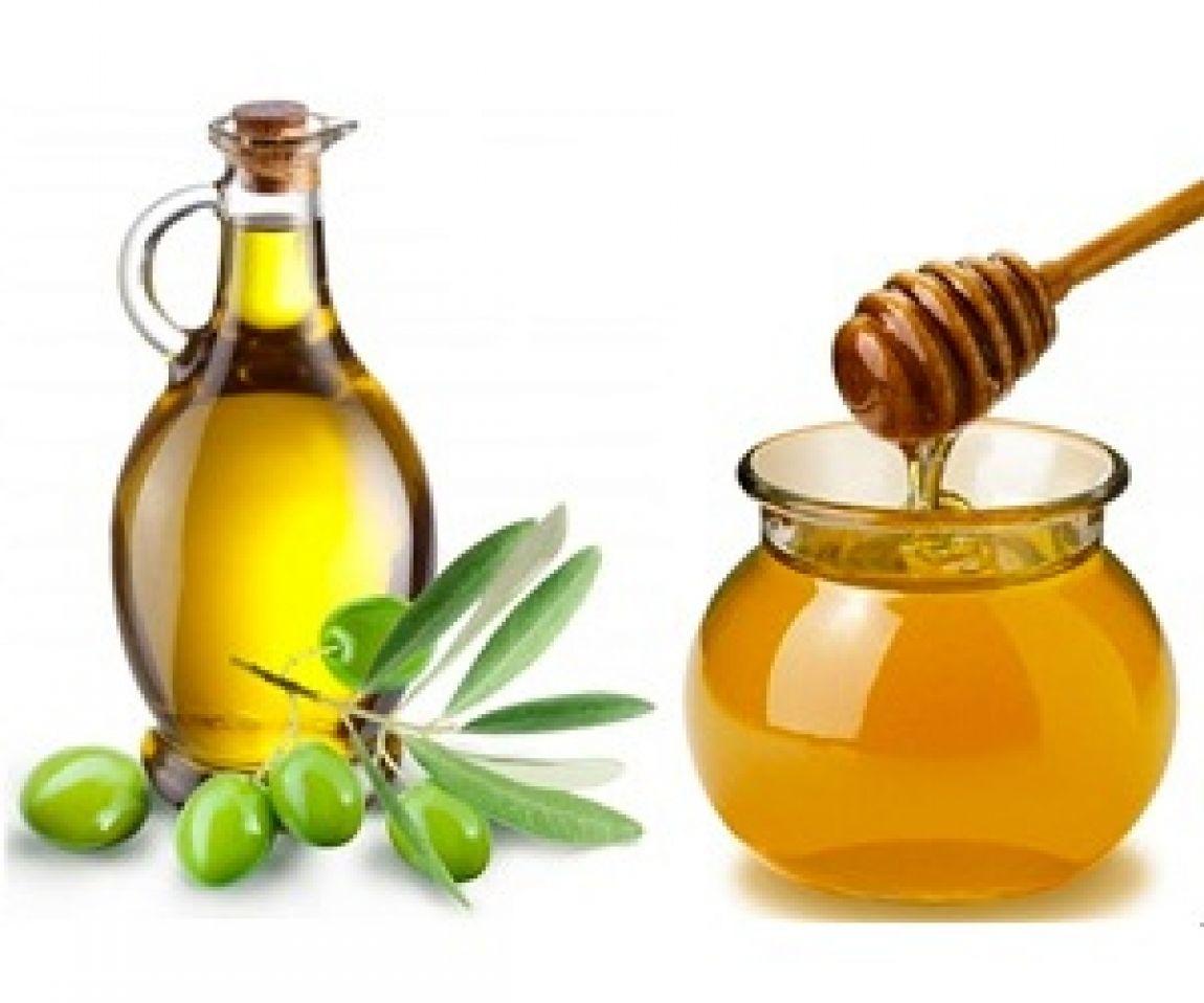 Маска из мёда и оливкового масла