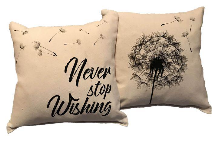 декоративные подушки с принтом