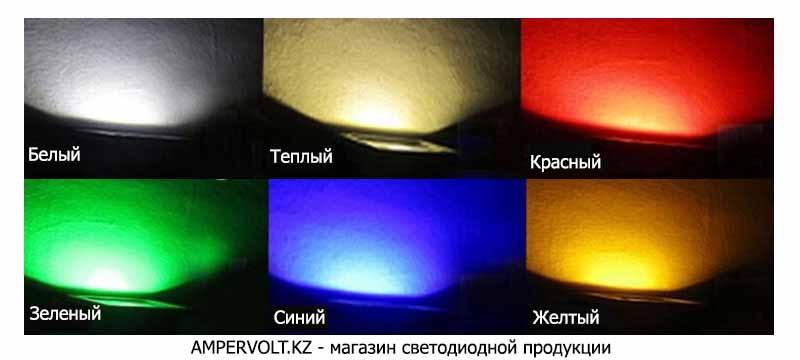 Цветные прожекторы купить в Астане
