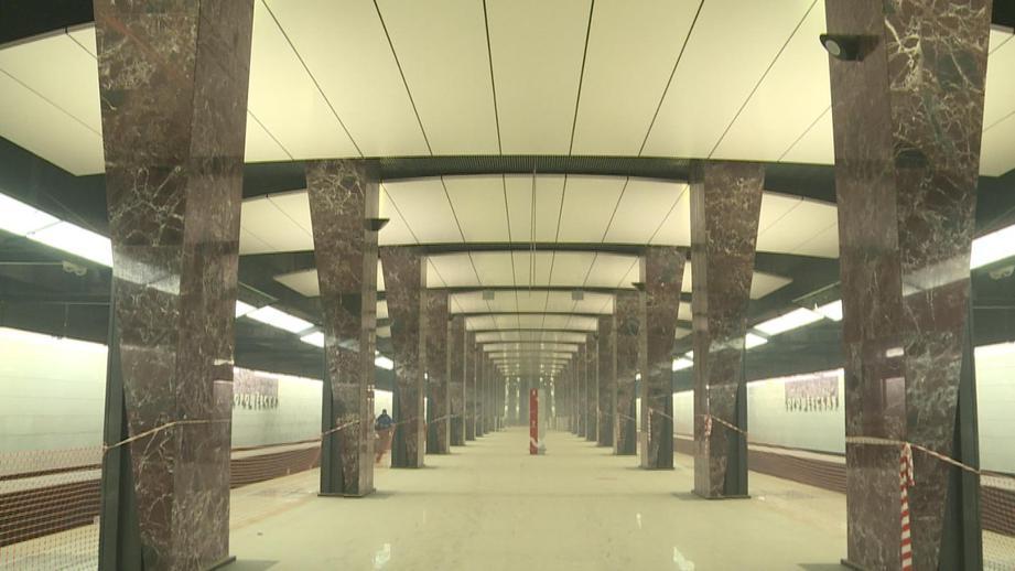 Шесть станции Большой кольцевой линии метро откроются в 2018 году