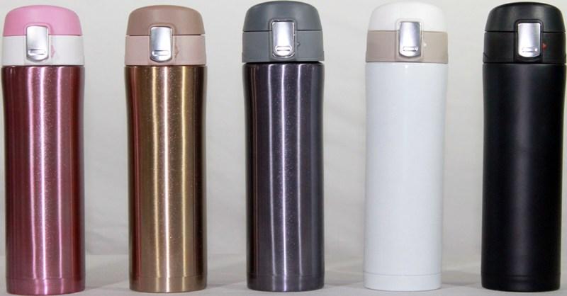 Термостакан Metal ZR-9 с поилкой 450 мл - доступные цвета