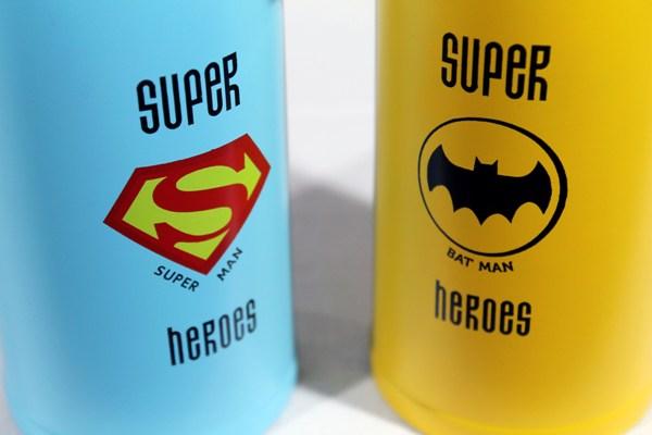 Термостакан Super Heroes 500 мл с поилкой - рисунки