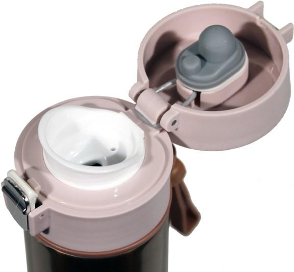 Термостакан Health с поилкой 500 мл - крышка с поилкой и силиконовым уплотнителем