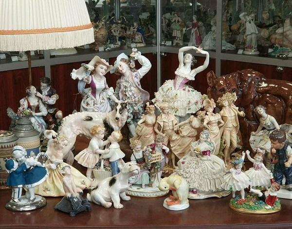 Пожалуй, лучшие антикварные и старинные фарфоровые статуэтки из Европы для коллекций и подарков в Новом Году