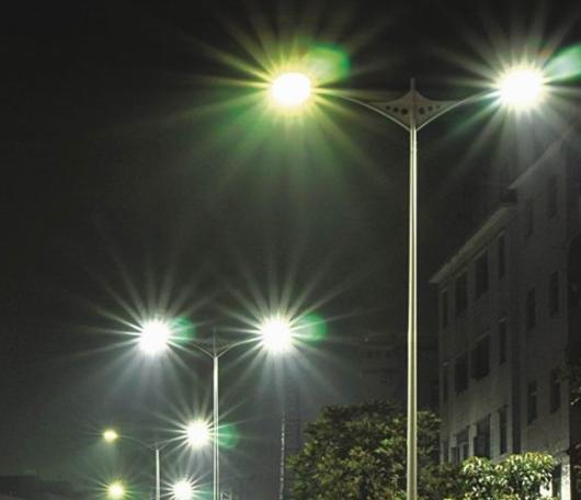 Уличное освещение в Астане