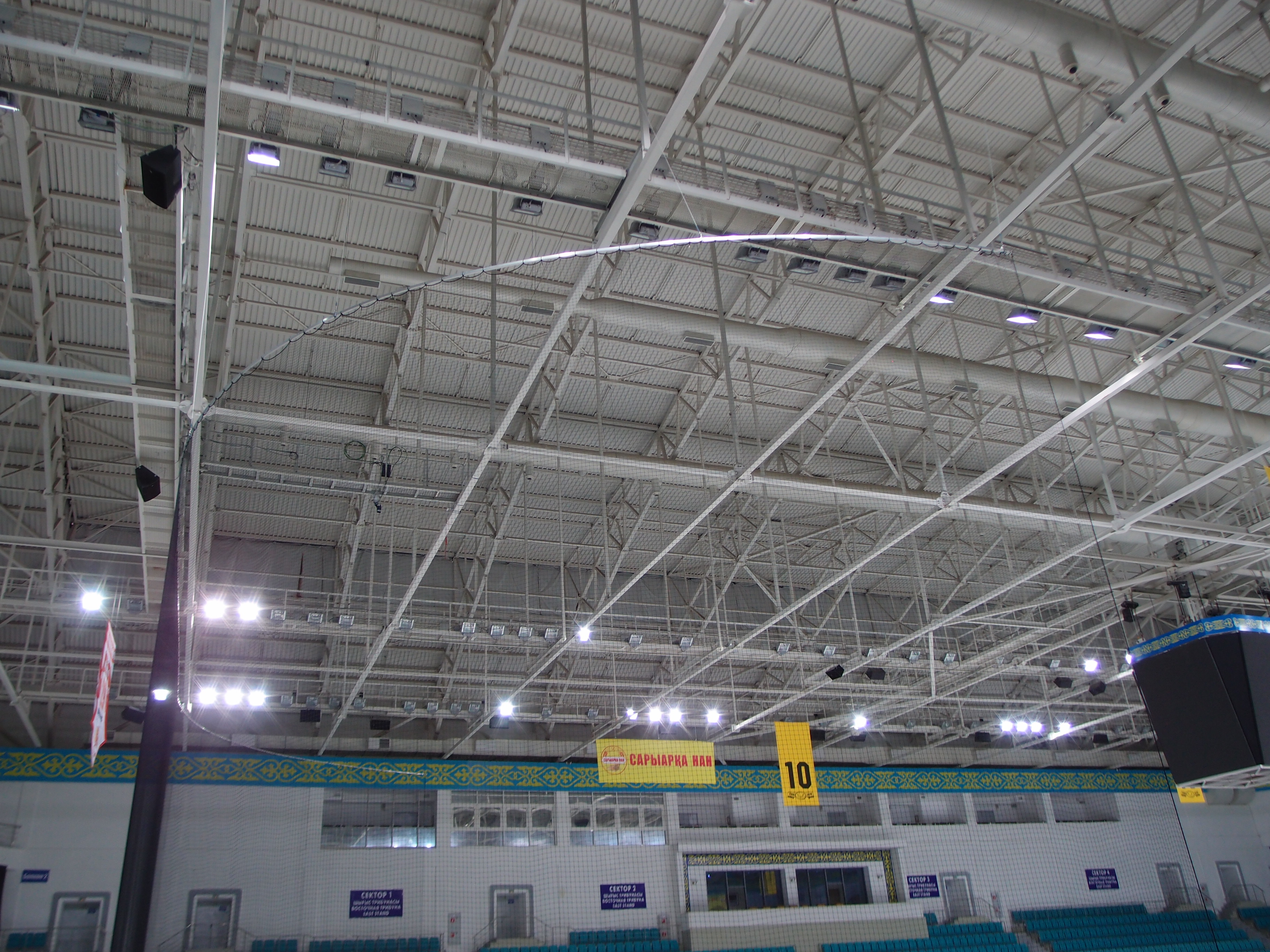 Промышленное освещение. Промышленные светильники в Астане