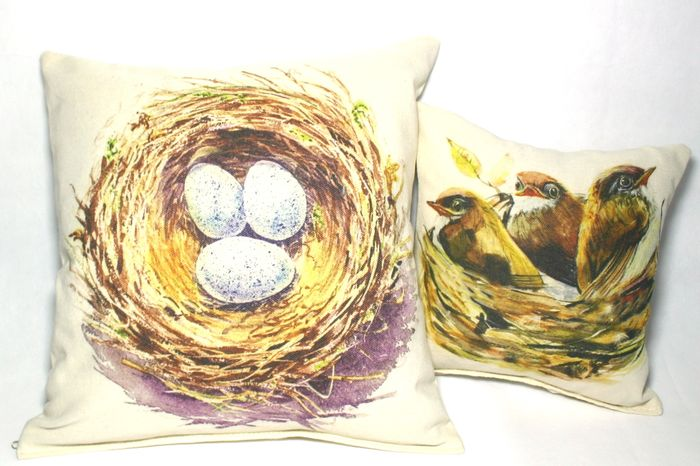 декоративные подушки с принтом оптом с рисунком