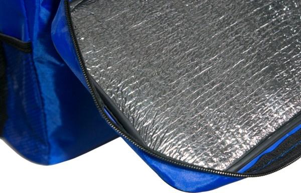 Изотермическая термосумка ThermoBag 10 литров - фольгированная ткань