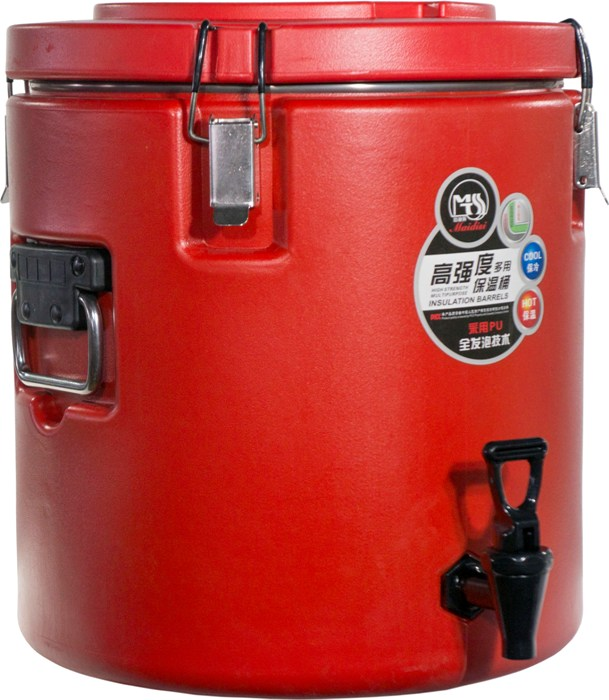 Изотермический термо-бочонок Maidisi 30 литров для напитков - удобная форма