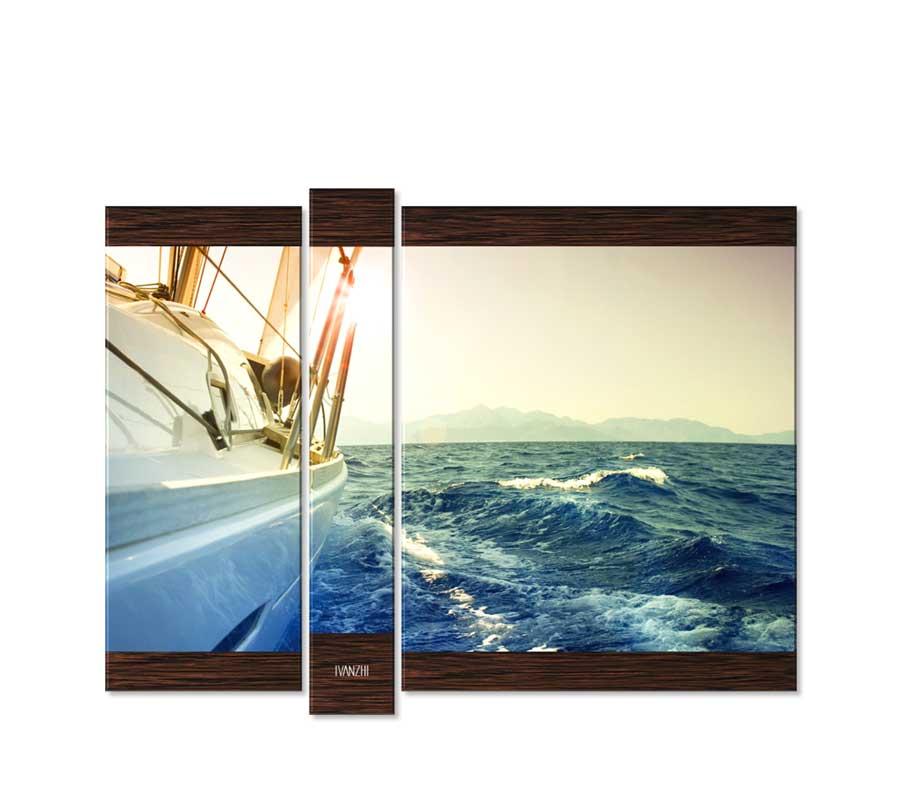 Модульные картины море