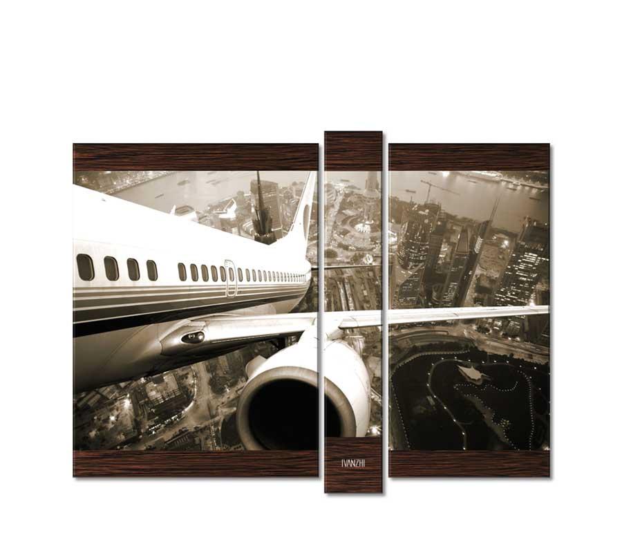 Модульные картины авиация