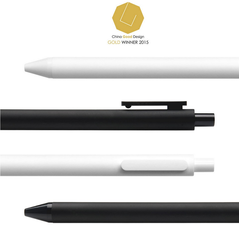 Набор гелевых ручек KACO Pure Gel Ink Pen White 10 pcs K1015 награда за дизайн