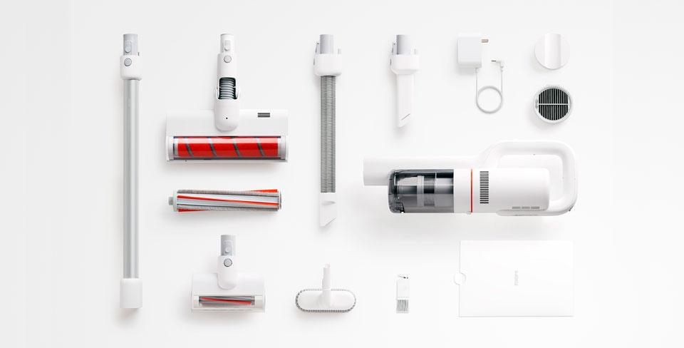 Roidmi F8 Handheld Wireless Vacuum Cleaner модульная конструция