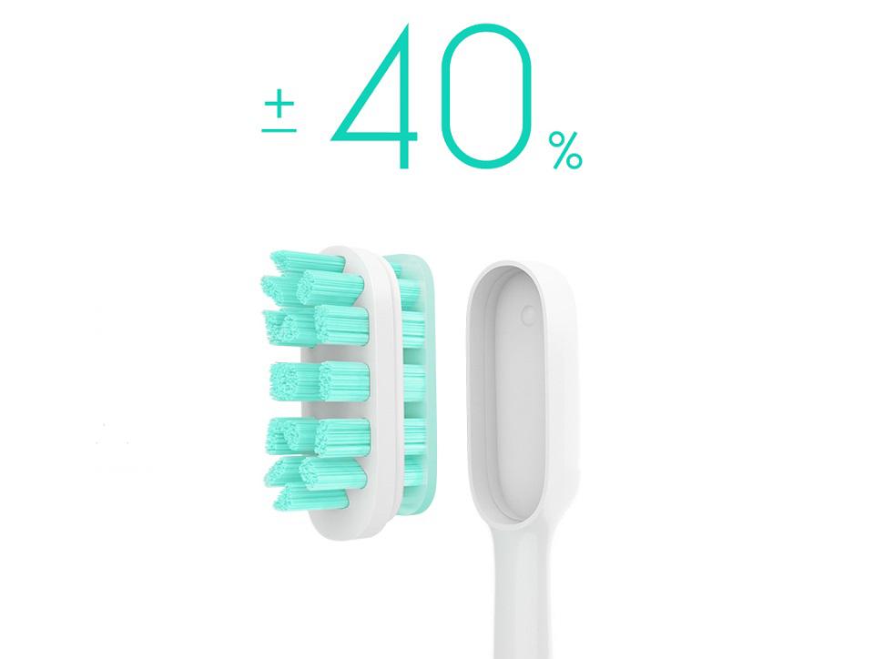 Электрическая зубная щетка MiJia Sound Wave Electric Toothbrush  головка щетки и щетинки
