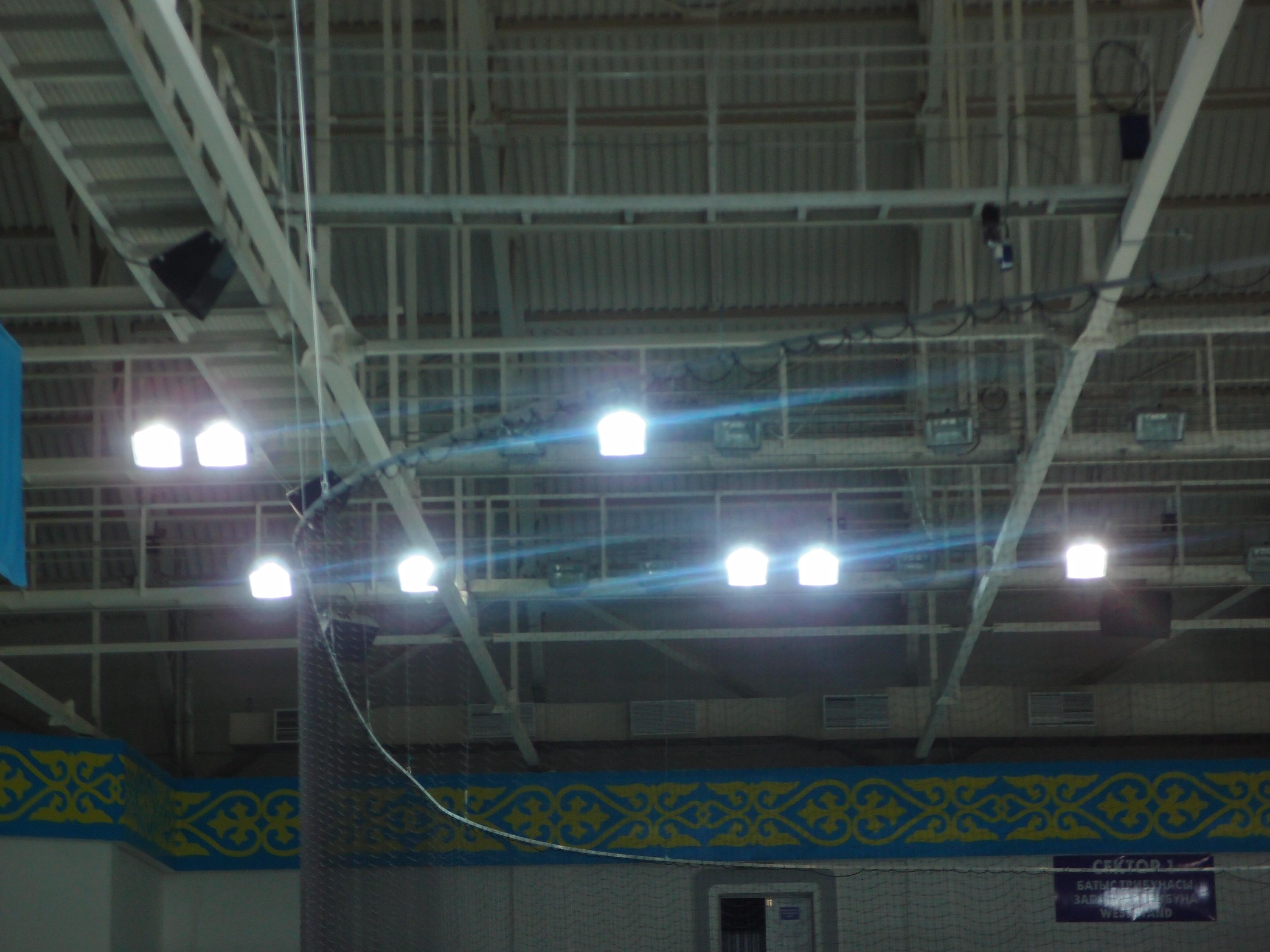 Промышленное освещение спорт комплекса