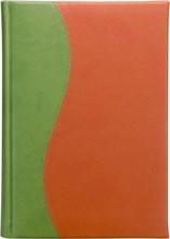 Ежедневник датированный А5 Vivella зеленый светлый комбинированный