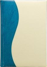 Ежедневник датированный А5 Rich бирюзово-молочный
