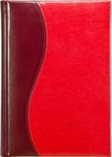 Ежедневник датированный А5 Image бордово-красный