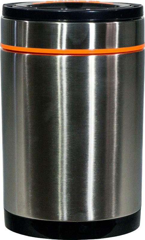 Термос Steel Food S 1,8 литра с тремя судочками для еды - удобная форма