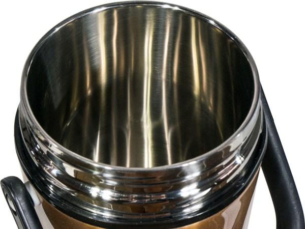 Термос Steel Food M 2,2 литра с тремя ёмкостями для еды - широкое горло