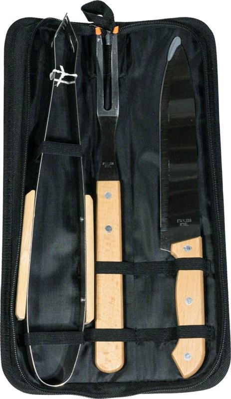Набор для приготовления гриля Steel S-93 из 4 предметов - приборы