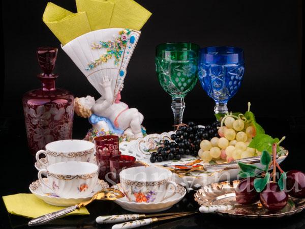 Фарфоровая посуда и предметы сервировки фото