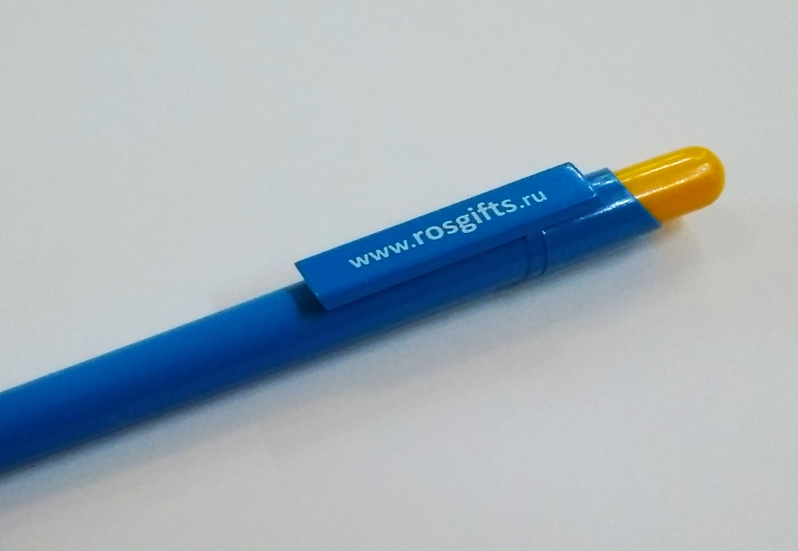 ручки в цветах флага Казахстана