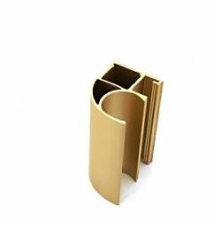 Профиль алюминиевый золото