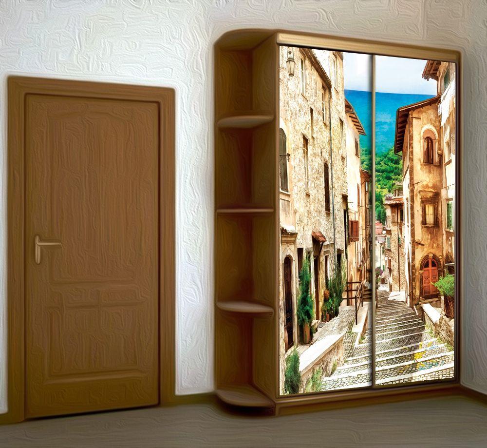 Наклейка на шкаф - Неаполитанская купить в магазине Интерьерные наклейки