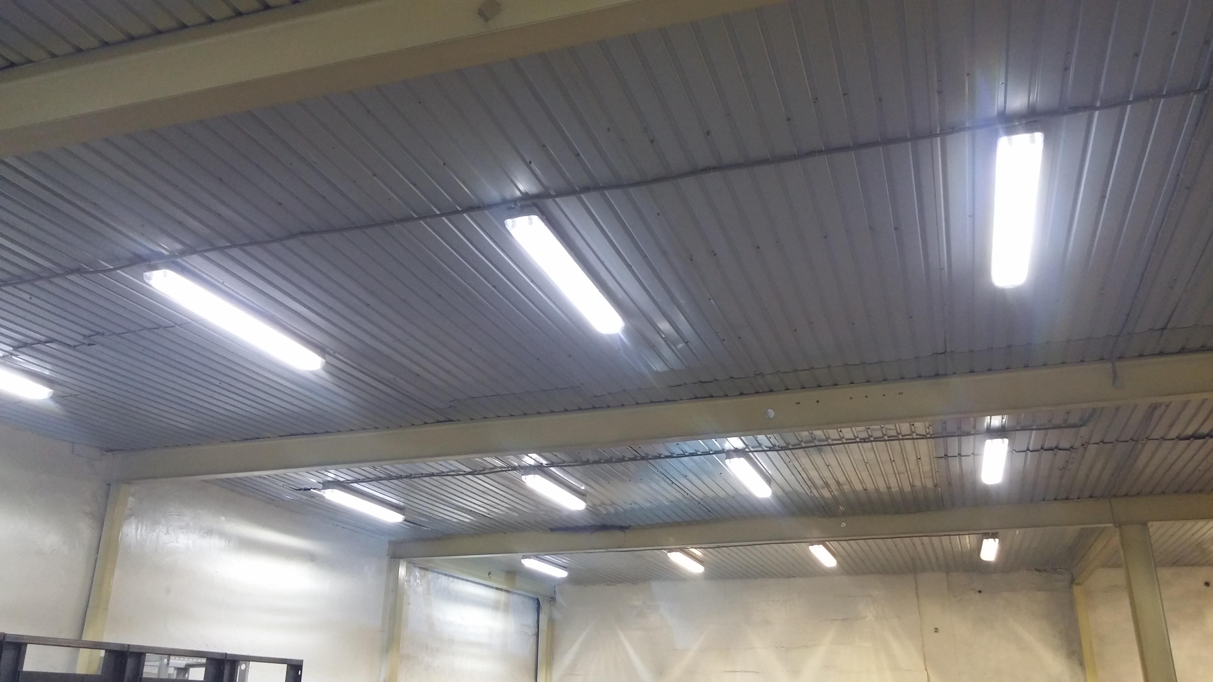 освещение для высоких потолков
