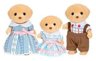 Набор «Семья Лабрадоров» (3 фигурки), Sylvanian Families
