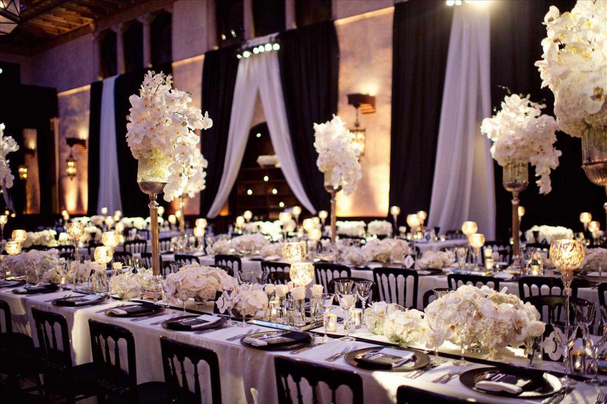 Свадьба в стиле гламур