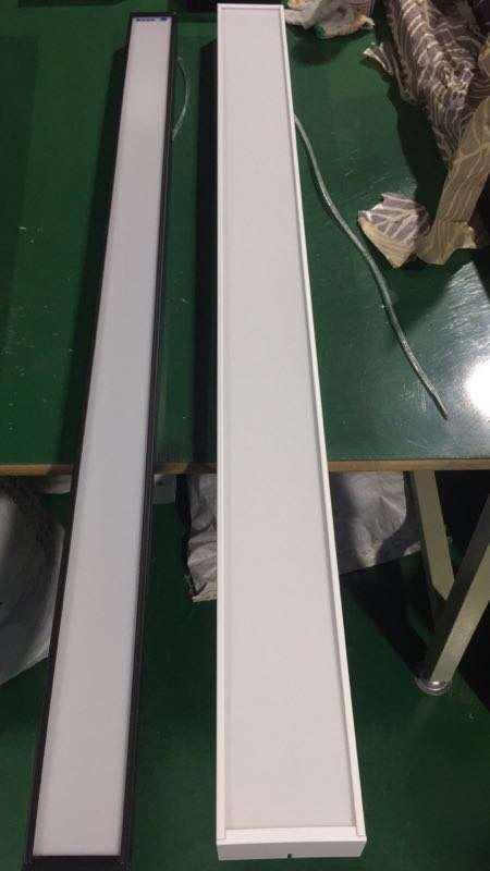 алюминиевый корпус для потолочного светильника 36 ватт