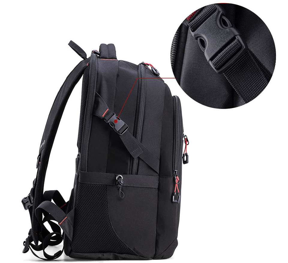 Рюкзак U'REVO large capacity multi-function backpack ремешок