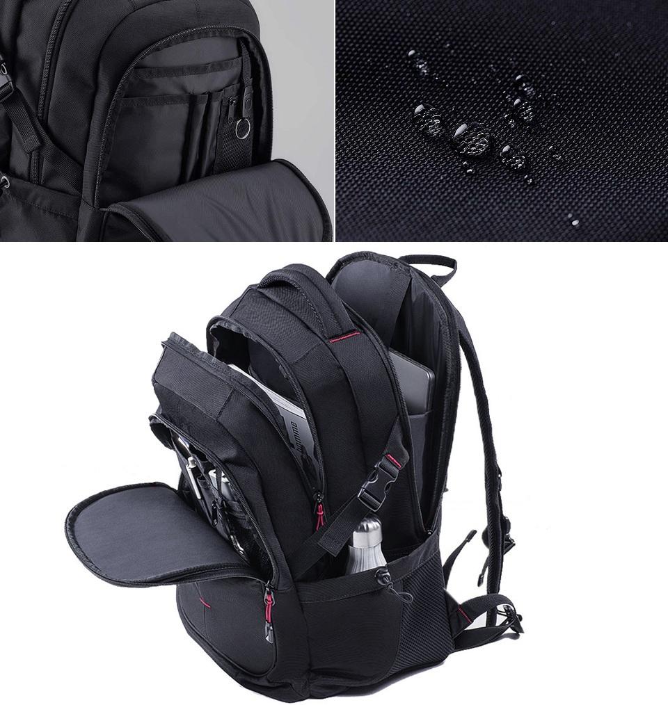 Рюкзак U'REVO large capacity multi-function backpack разные предметы в рюкзаке