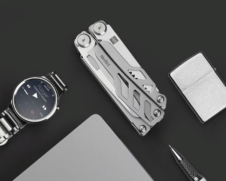 Huo Hou Fire Multi-function knife Silver HU0040 полезный мультитул