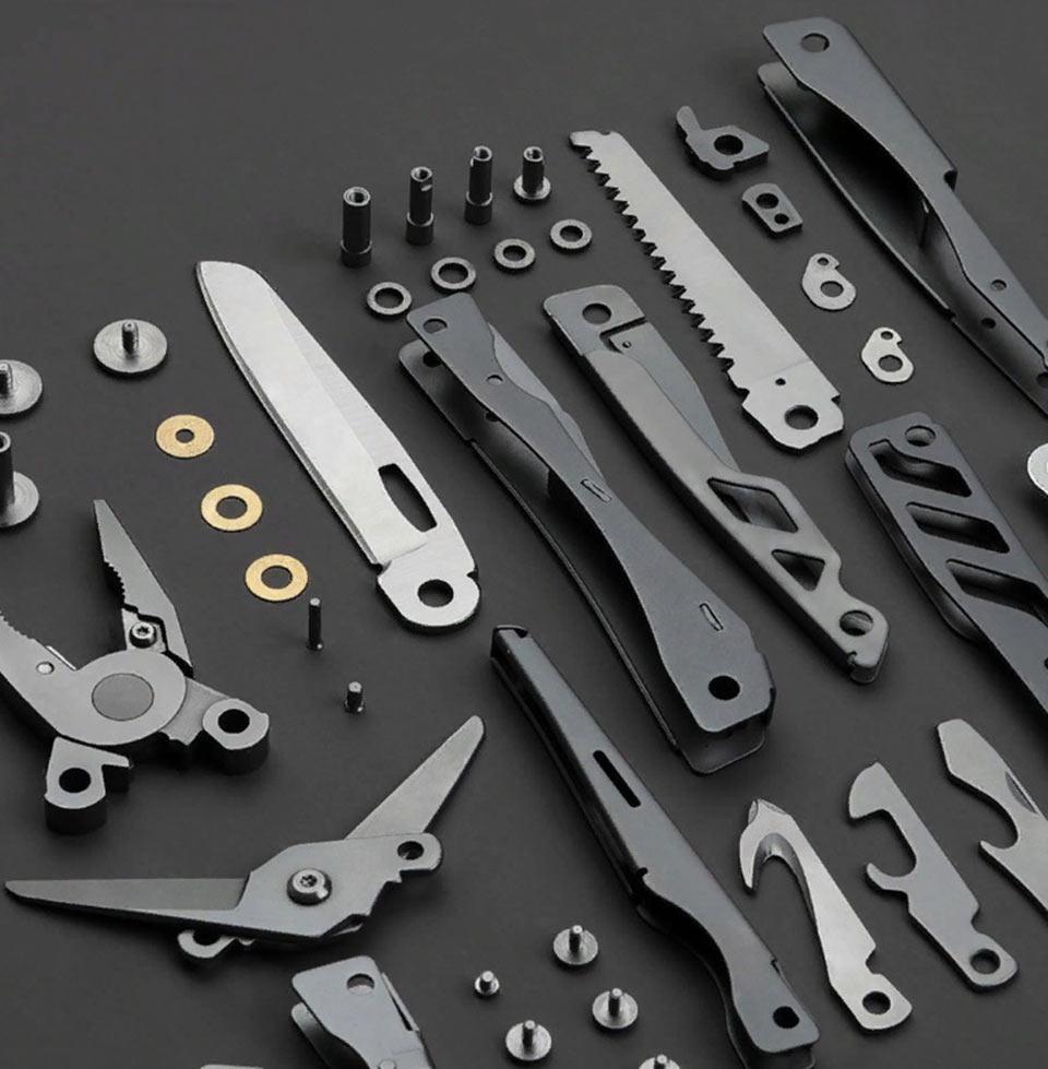 Huo Hou Fire Multi-function knife Silver HU0040 конструкция мультитула