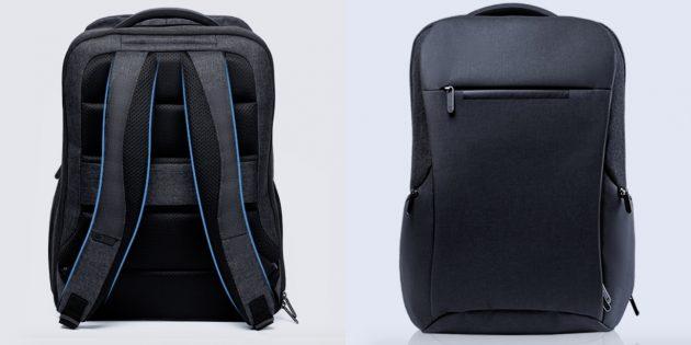у рюкзака есть дополнительная лямка для крепления на ручке чемодана