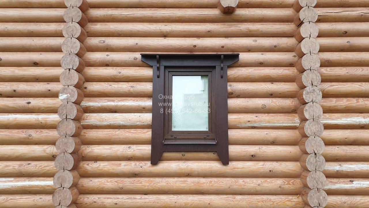 финские наличники на окна
