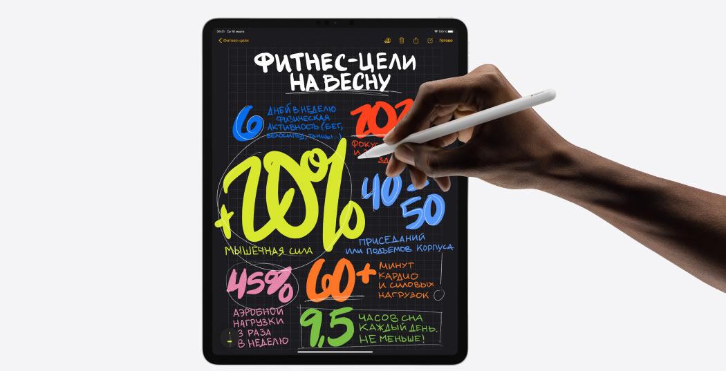 iPad Pro 2020 и Pencil 2