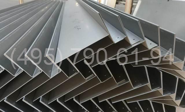 Откосы и отливы из листового алюминия