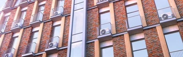 Вентилируемые фасады из клинкерной плитки с затиркой