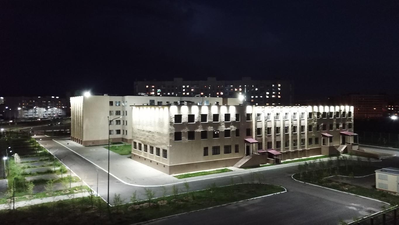 Уличное освещение школы №74