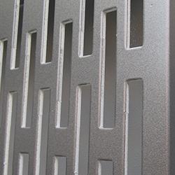 Перфорированные фасадные кассеты из композитных панелей